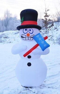 chneemann mit Gebläse 180cm Weihnachtsdekoration Sky Dancer  (Schneemann Weihnachten Dekoration)