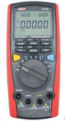 New Uni-t Ut71e Intelligent Digital Multimeter Tester Usb To Pc True Rms Ut-71e