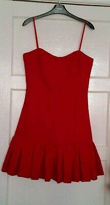 BNWT * JILL JILL STUART * Size 12 (UK) RED DRESS, PARTY, EVENING,WEDDING,