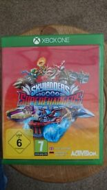 Skylanders Superchargers Xbox one game - excellent condition