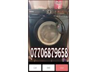 Black hoover 8kg washing machine like New can deliver