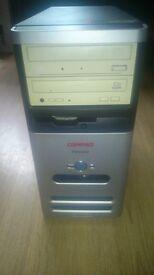 DESKTOP PC COMPUTER, WINDOWS 10 HOME, 2GB RAM. 160GB HDD, DVD WRITER. DUAL CORE CPU
