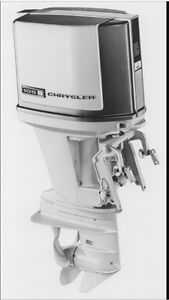 Chrysler Outboard 85 HP plus