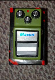 Maxon VOP-9 Overdrive. Xotic Wampler