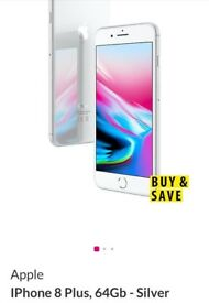 iPhone 8+ 64GB BRAND NEW SEALED