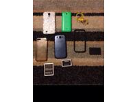 Bundle cases,charger,batteries