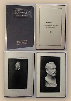 Die Jubiläumsfestlichkeiten zu Ehren Prof. Dr. Duisberg 1909 Geschichte xy