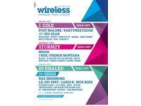 Friday Wireless Tickets x 3