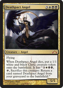 mtg-BLACK-WHITE-ORZHOV-DECK-Magic-the-Gathering-deathpact-angel-teysa-rare-lot