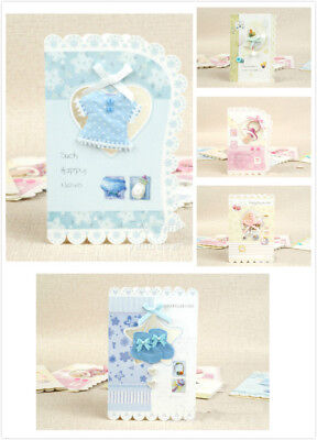 Cute Congratulations Card for New Baby Boy Girl Birthday Baby Shower Invitation](Cute Baby Shower Invitations)