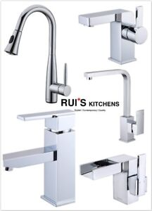 Top quality modern style faucets from $55 Warehouse Special Sale