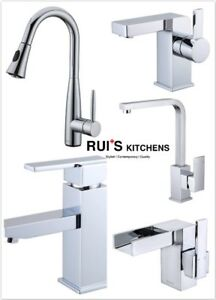 Top quality faucets polished chrome from $55 Warehouse Special