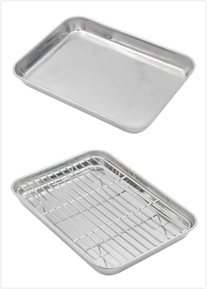 Aspire Cooking Sheet Tray 304 Stainless Steel Cookie Baking