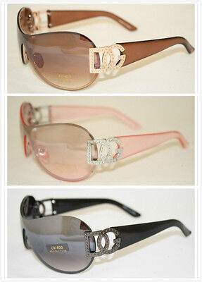 Wholesale Dozen Big Oversized Women sunglasses Wrap New Fashion DG Eyewear 9033