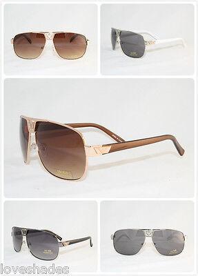 (New Mens Aviator Retro Sunglasses Shades Eyewear Fashion Design Classic Cool)