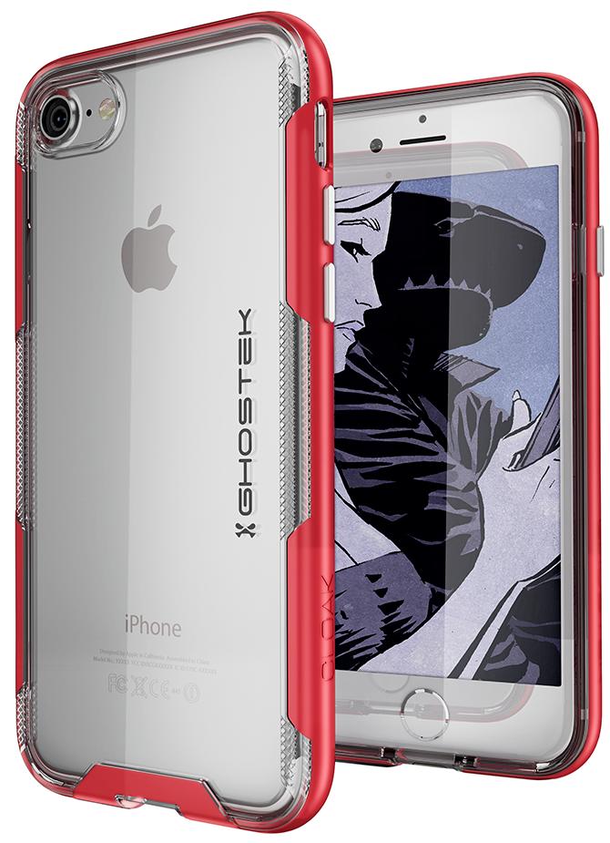 For iPhone 7 / iPhone 8 Case   Ghostek CLOAK Slim Clear Wire