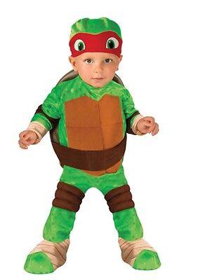 Teenage Mutant Ninja Turtle Raphael Kostüm Kleinkind-Größe 2T-4T Neu mit