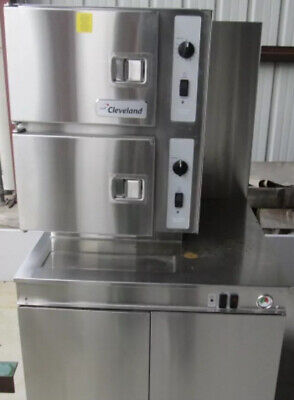 Cleveland 36cgm300 Convection Steamer Freight Shipping Available