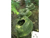 Chimney Tops / Gatepost Finials / Garden Planters