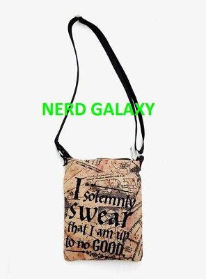 Harry Potter Solemnly Swear Map LICENSED Crossbody Passport Bag Purse Bag NEW!  (Harry Potter Purses)