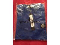 Brand New Stone Island T-shirt, Royal Blue, Size M