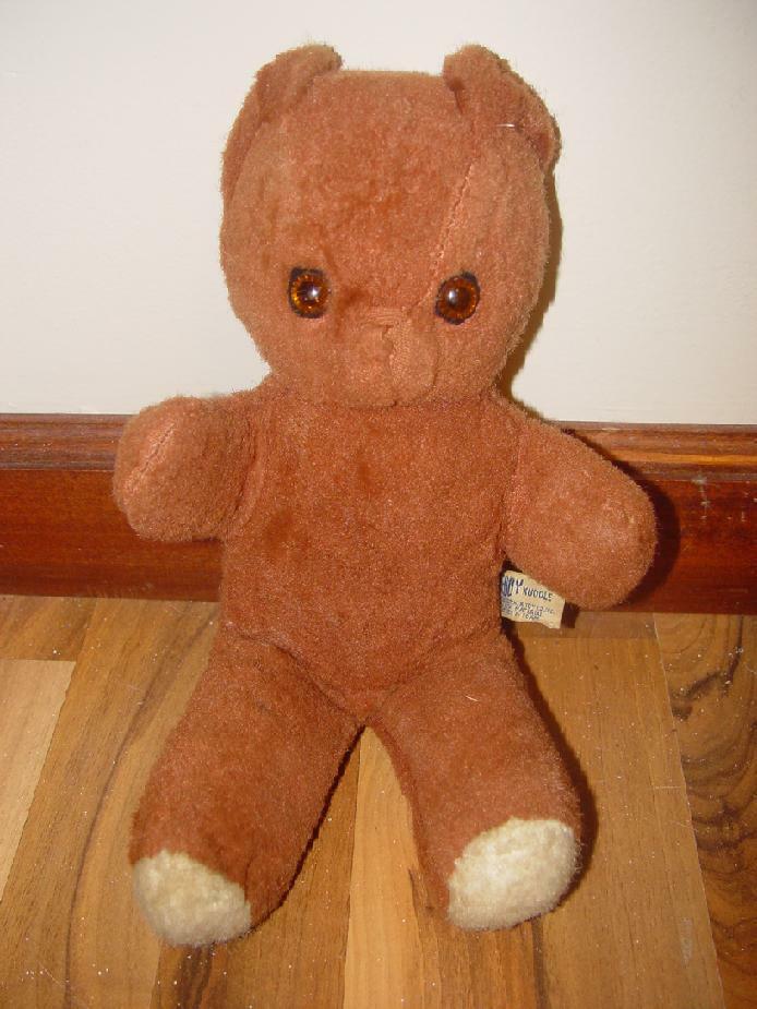 Vintage 1960 s Knickerbocker Teddy Bear Stuffed Animal Boyds Bears Collection - $9.99