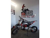 2017 BRAND NEW DEMON X 125CC PIT BIKE CROSSER DIRT BIKE