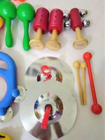 Bundle Pre-School Children 29 x MUSICAL INSTRUMENTS Percussion Baby Music
