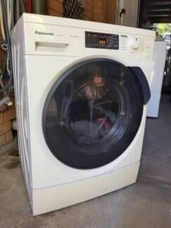 8kg Panasonic front load washing machine, 1400rpm