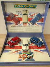 Italian Job Scalextric Limited Edition Box Set