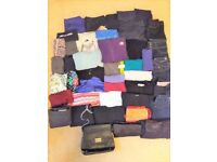 Large bundle of mixed women's clothes & bags