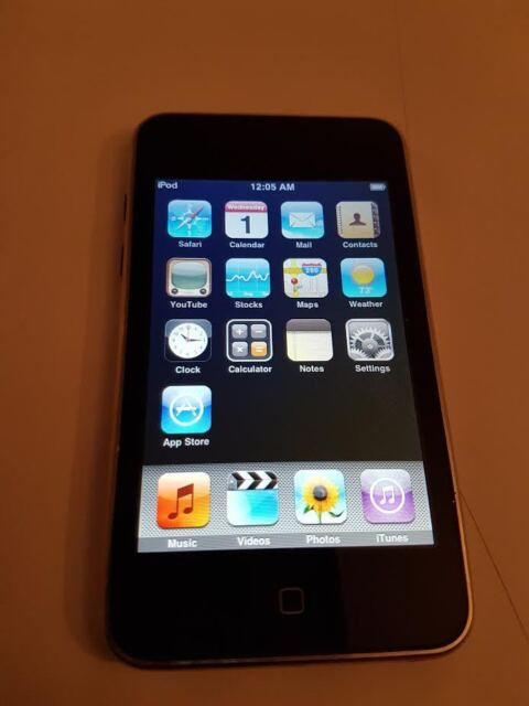 IPOD TOUCH 2ND GENERATION 16GB BLACK