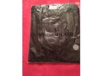 Brand New Stone Island T-shirt, Black, Size M
