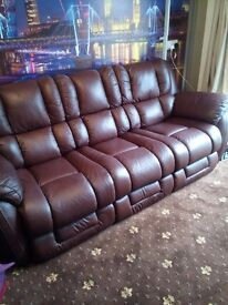 LAZBOY SOFA ONLY 8 MONTHS OLD £395(GENUINE BARGAIN)includes matching armchair