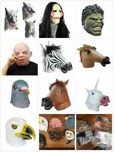 Head Masks for Parties and Halloween, Unicorn, Horses, Pigeon etc Alexandria Inner Sydney Preview