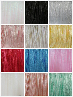 5ftx9ft Sequin Backdrop Wedding Party Birthday Curtain Background Photo Decor