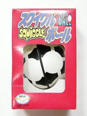 TAKARA SQUIGGLE BALL : SOCCER BALL Rare