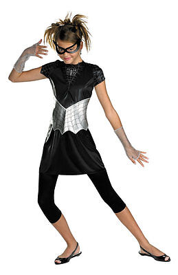 Spider-Girl Child Costume Size JR 7-9 NWT Spiderman (Spider Girl Costume Child)
