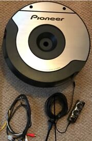 Pioneer TS-WX610A Space Saving Spare Wheel Amplified Subwoofer 200W RMS