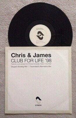 Chris   James  Club For Life 98  Samples Pamela Fernandez Kickin In The Beat