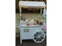 Candy Sweet Cart for Hire, Weddings, Parties, Christenings events and functions