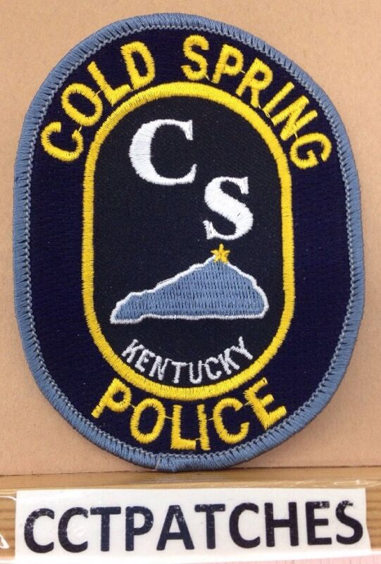 COLD SPRING, KENTUCKY POLICE CS SHOULDER PATCH KY