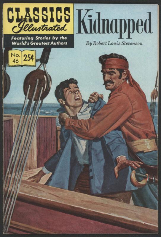 CLASSICS Illustrated #46, HRN 169, 1970, Gilberton