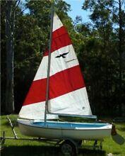 Fairlight Gull fibreglass sailing boat Uralla Uralla Area Preview