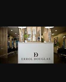 Model needed for creative flooring at prestigious 5* hair salon Errol Douglas