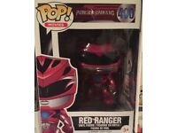 Pop Funko Red Power Ranger