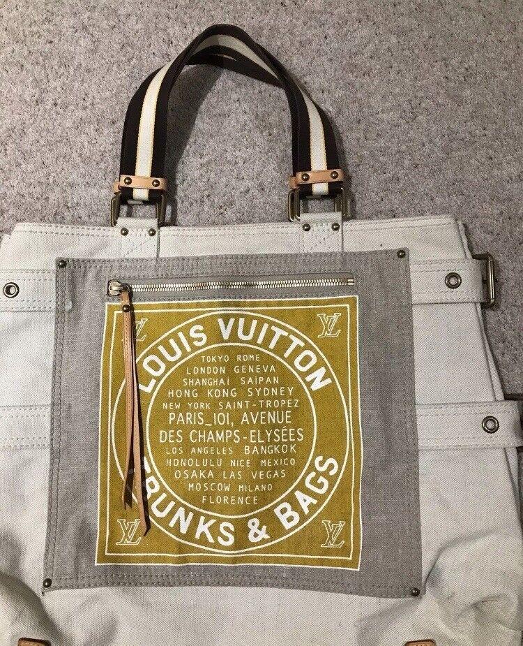 4b437498b8a9 LOUIS VUITTON Globe Shopper Cabas PM Trunks   Bags Tote