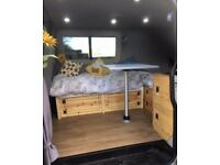 VW T5/T30 1.9 TDi LWB CAMPERVAN MOTOR CARAVAN UNIQUE RUSTIC CONVERSION - PRICE REDUCED FROM £14,000!