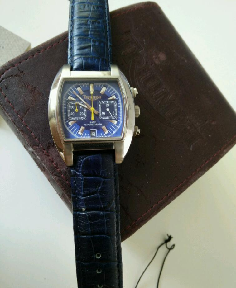 triumph chronograph watch rare | in knightswood, glasgow | gumtree