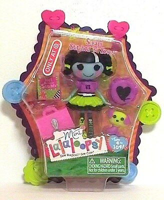 Lalaloopsy Doll Mini Scraps Stitched N Sewn Halloween Target Exclusive 2012 - Lalaloopsy Halloween Doll